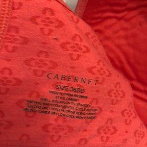 Cabernet Intimates & Sleepwear - Cabernet bra36 DD coral